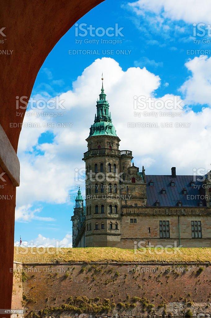 Kronborg Castle, Helsingør - Denmark stock photo