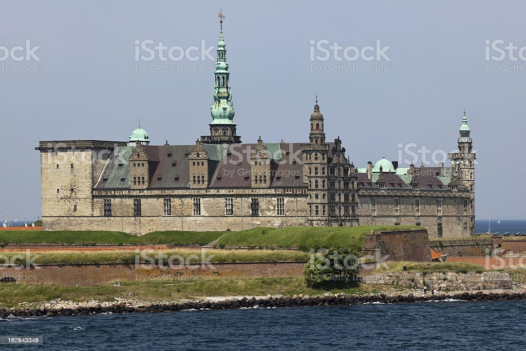Kronborg castle royalty-free stock photo