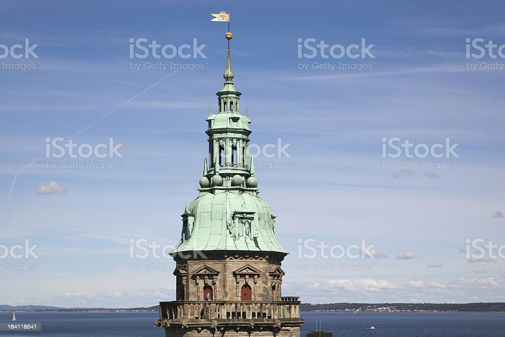 Kronborg castle royalty-free stock photo
