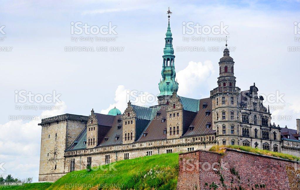 Kronborg stock photo