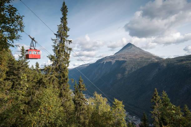 Krossobanen, Rjukan stock photo