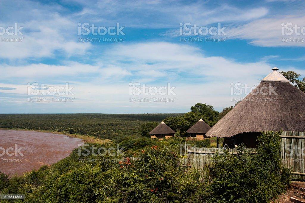 Kruger Rest Camp stock photo