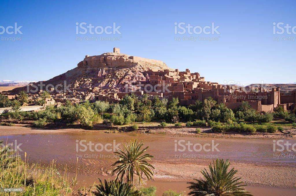 Ksar Ajt Bin Haddu in Morocco stock photo
