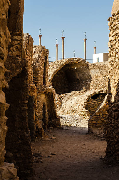 Ksar Hadada mezquita - foto de stock