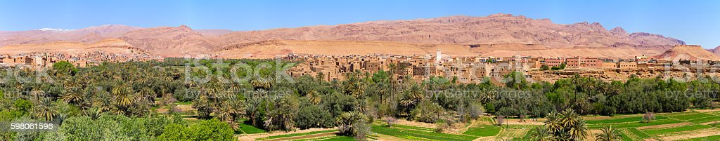 Ksar of Ajt Bin Haddu, Morocco stock photo