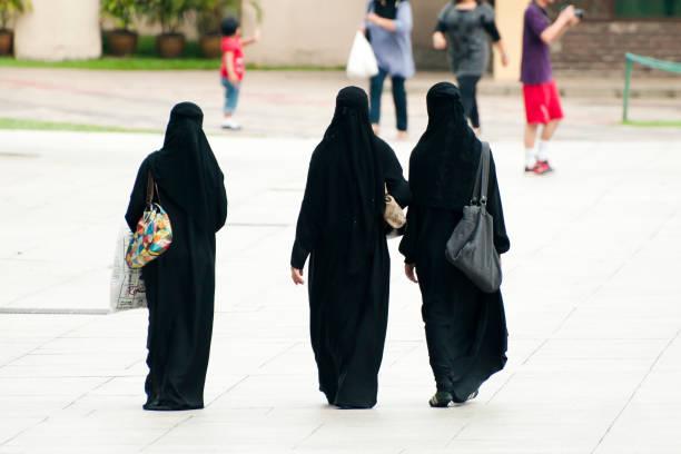 kuala lumpur, malaysia  - burka stock-fotos und bilder