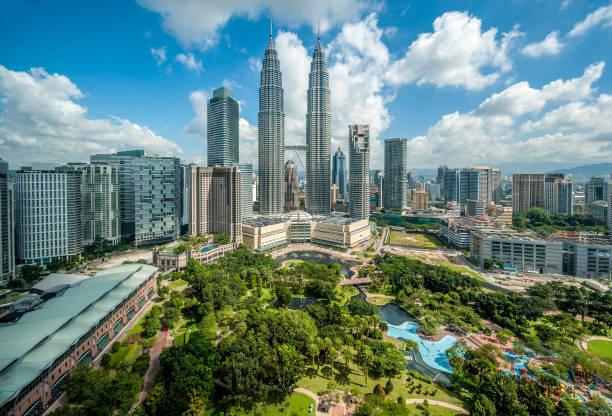 쿠알라룸푸르 스카이라인 감상 - 쿠알라룸푸르 뉴스 사진 이미지