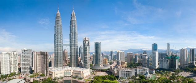 Kuala Lumpur Skyline Panorama