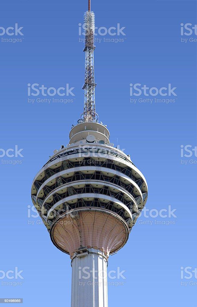 Kuala Lumpur  tower royalty-free stock photo