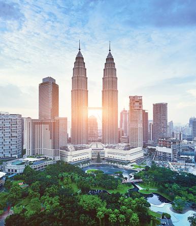 Kuala Lumpur Urban Scene, Malaysia