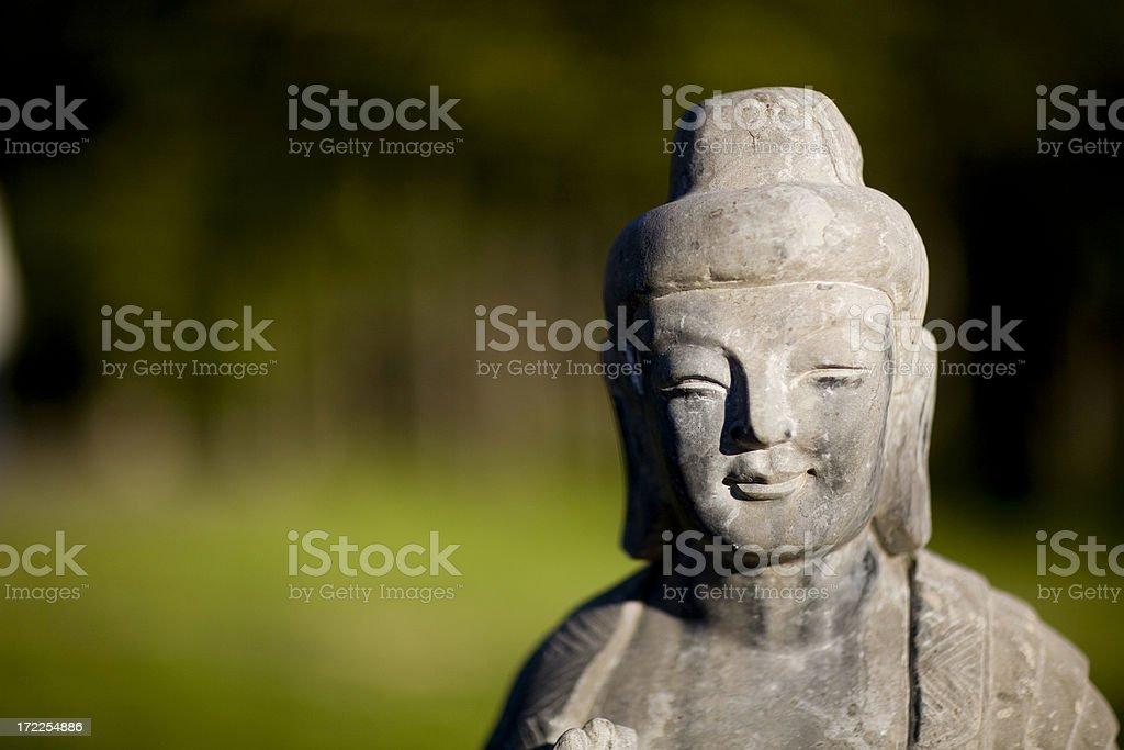 kuan yin teaching royalty-free stock photo