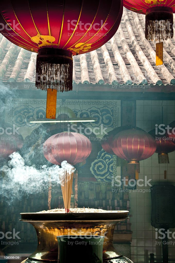 Kuan Yin Teng Temple royalty-free stock photo