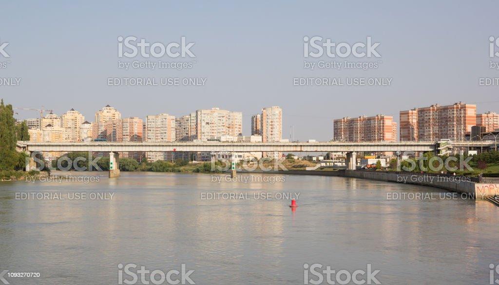 Kuban River Embankment In The Center Of Krasnodar Stock Photo Download Image Now Istock