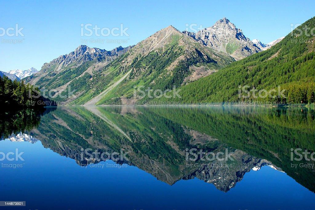 Kucherlinskoe lake, Altai royalty-free stock photo