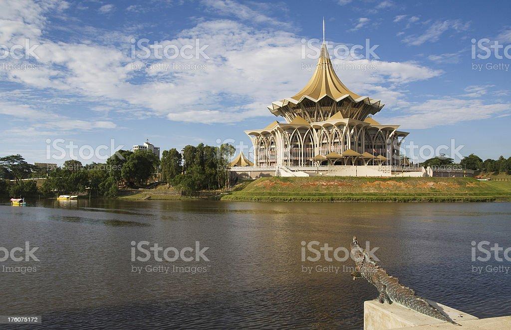 Kuching stock photo