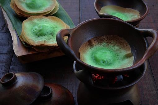 Kue Ape Pandan, the Traditional Coconut Milk Pancake from Betawi, Jakarta