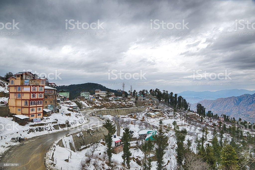 Kufri, Shimla stock photo