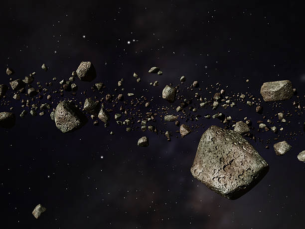 Kuiper Belt stock photo
