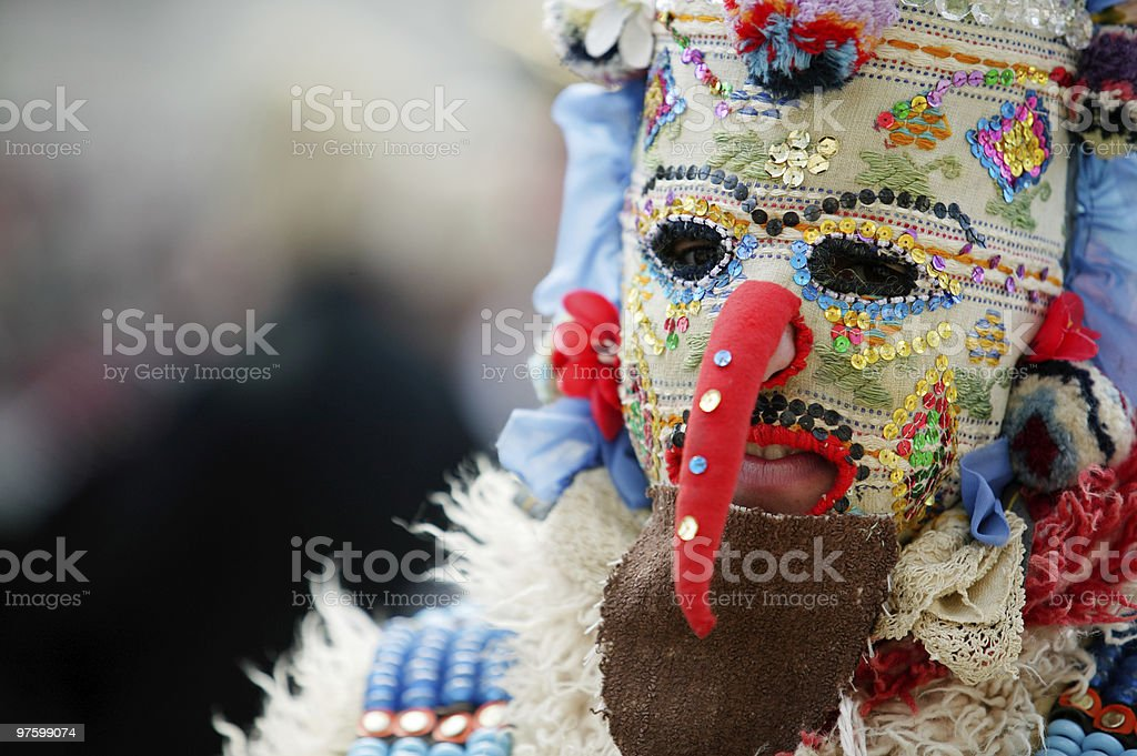 Kuker face royalty-free stock photo