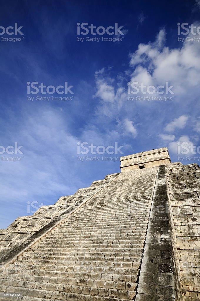 Kukulkan Pyramid royalty-free stock photo