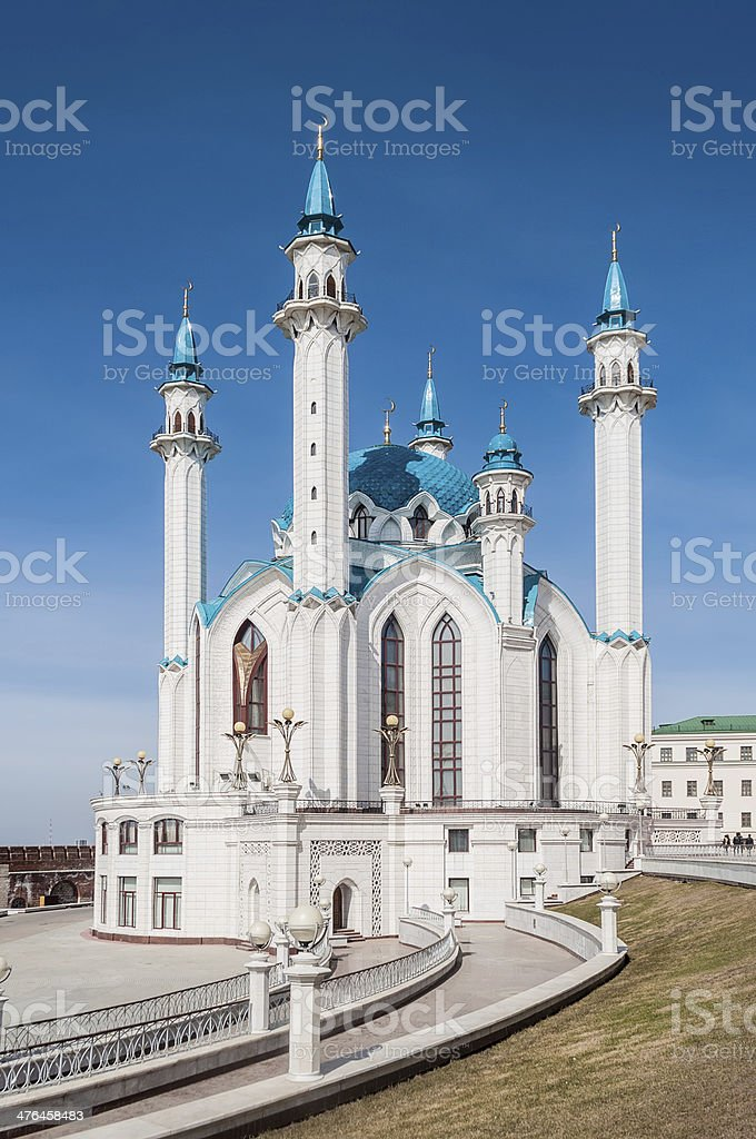 Kul Sharif Mosque royalty-free stock photo