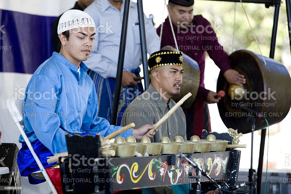 Kulintang Ensemble royalty-free stock photo