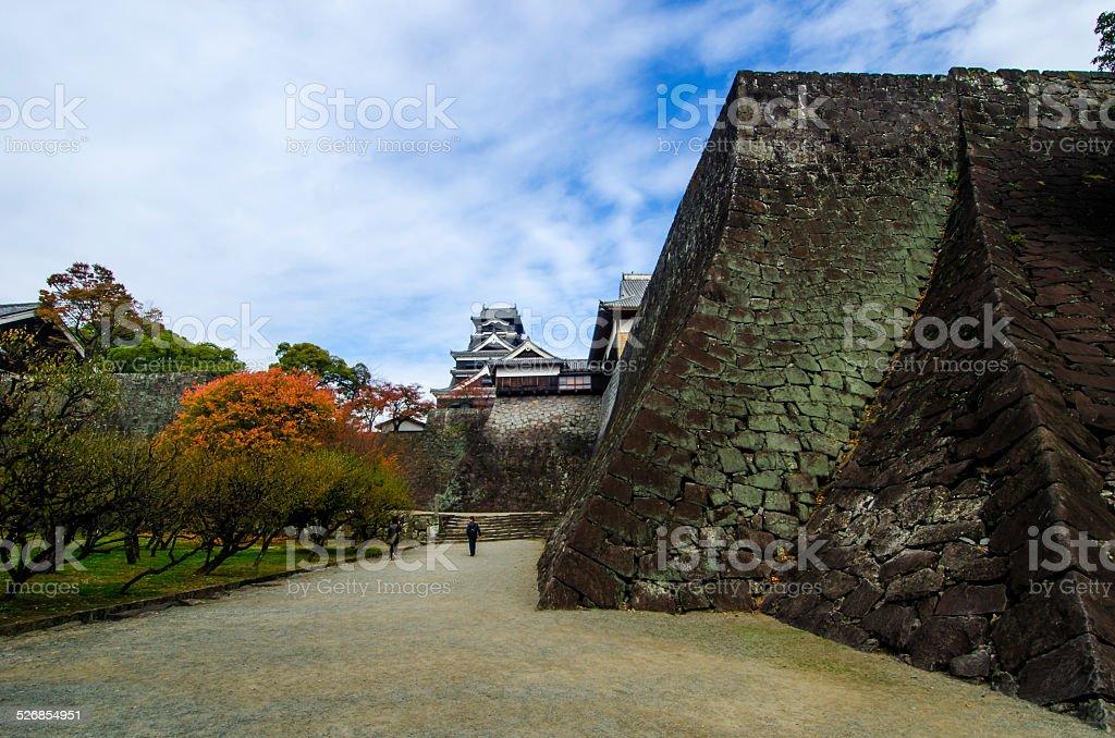 Kumamoto castle - Kumamoto , Japan stock photo
