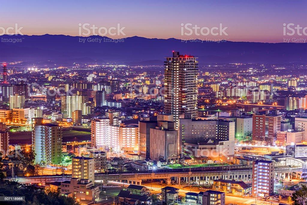 Kumamoto Skyline stock photo