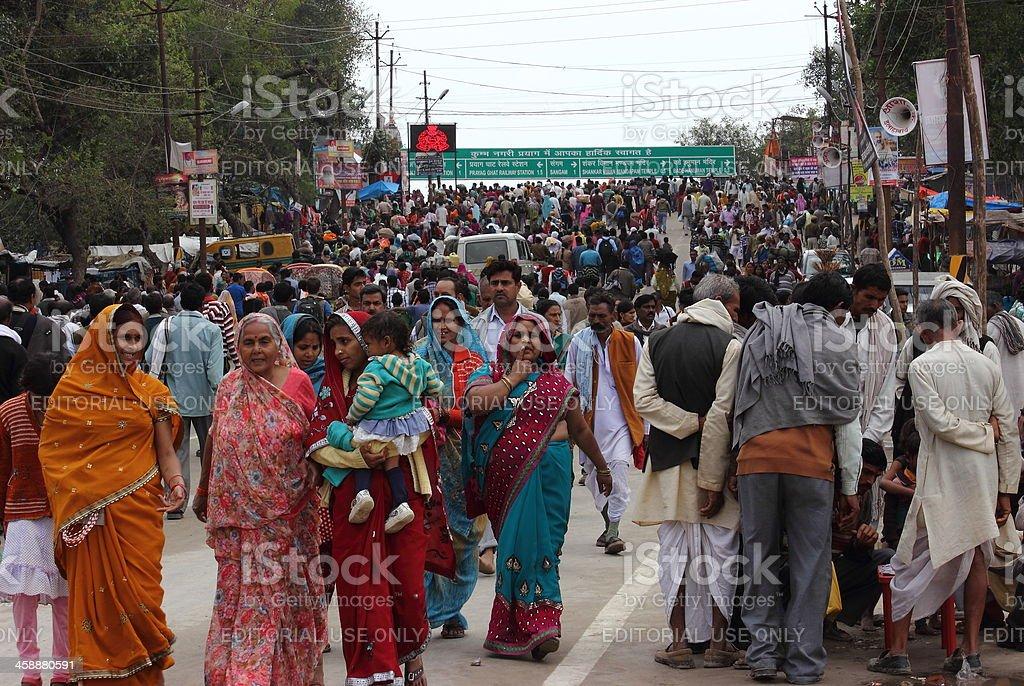 Kumbh 2013 royalty-free stock photo