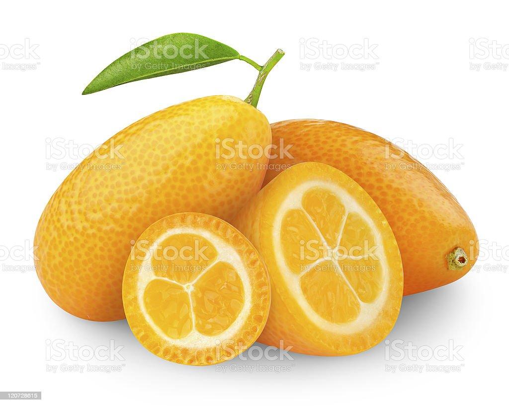 Kumquat stock photo