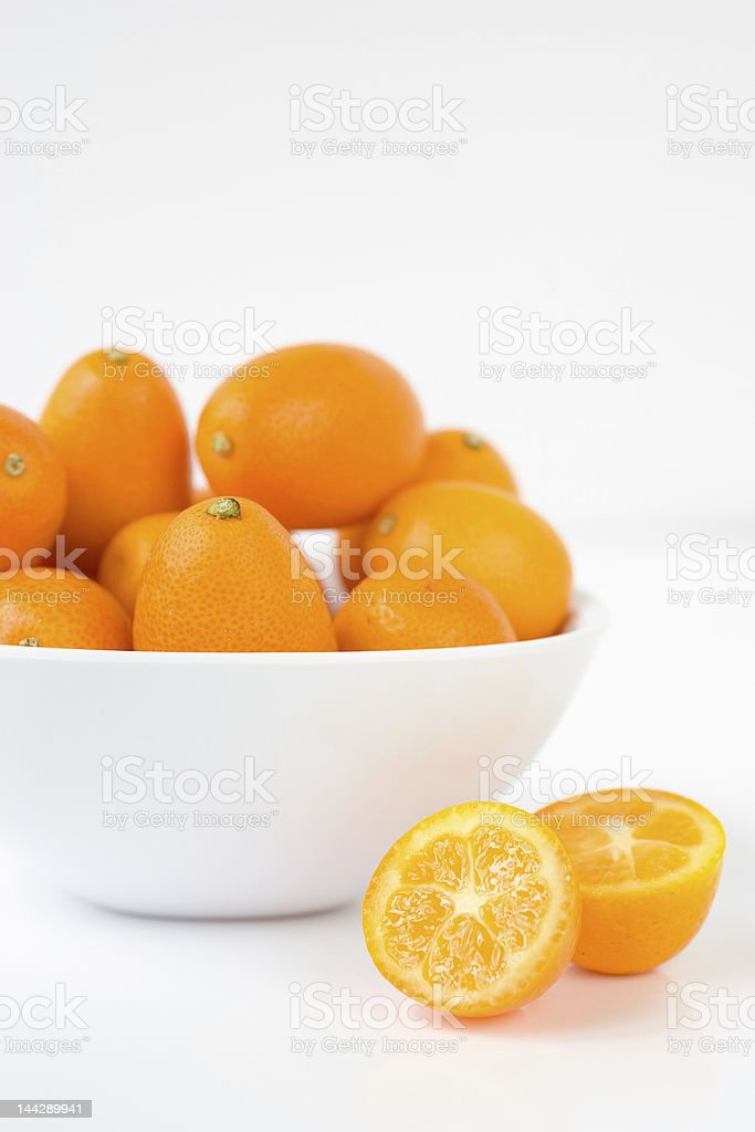 Kumquats royalty-free stock photo