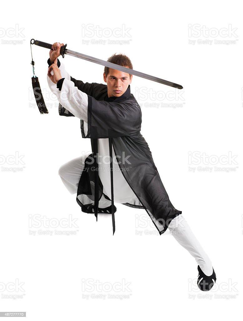 Kung Fu Master stock photo