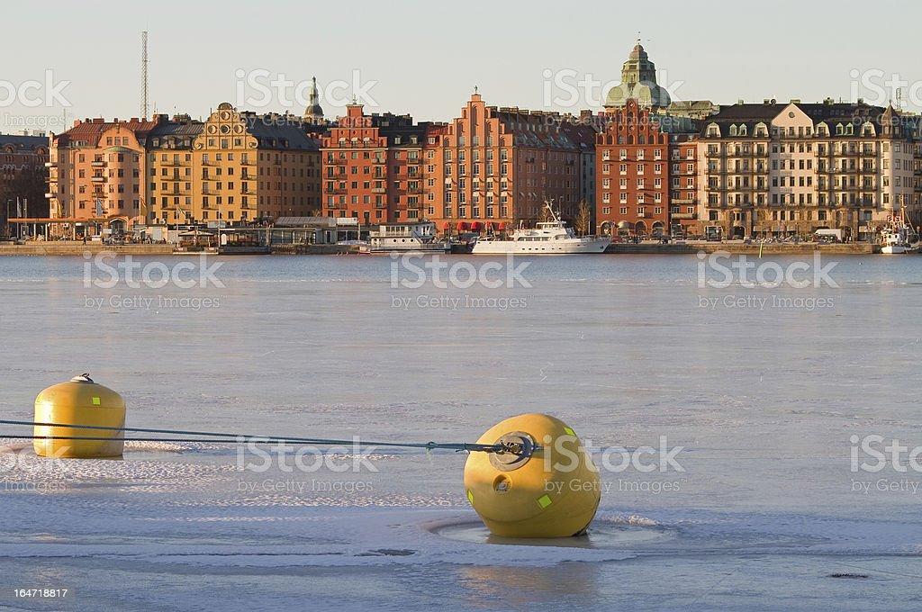 Kungsholmen Stockholm royalty-free stock photo