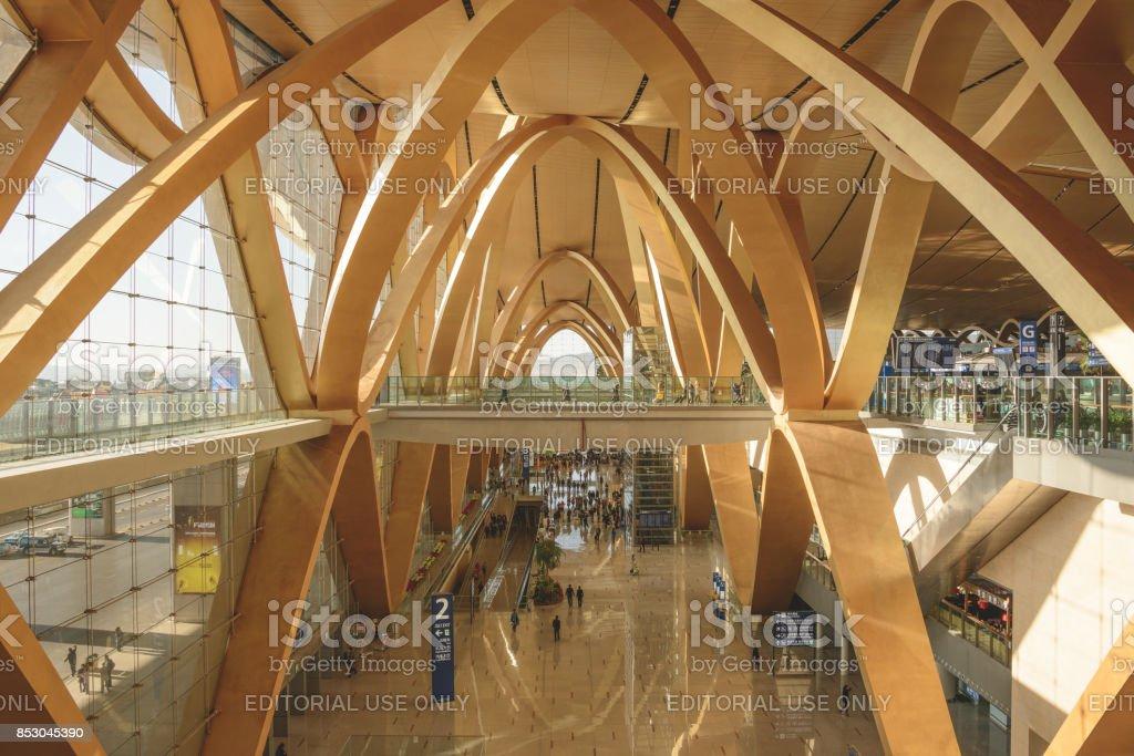 Kunming terminal stock photo
