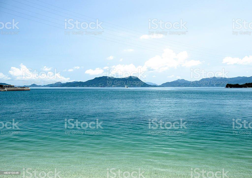 Ōkunoshima, Seto Inland Sea stock photo