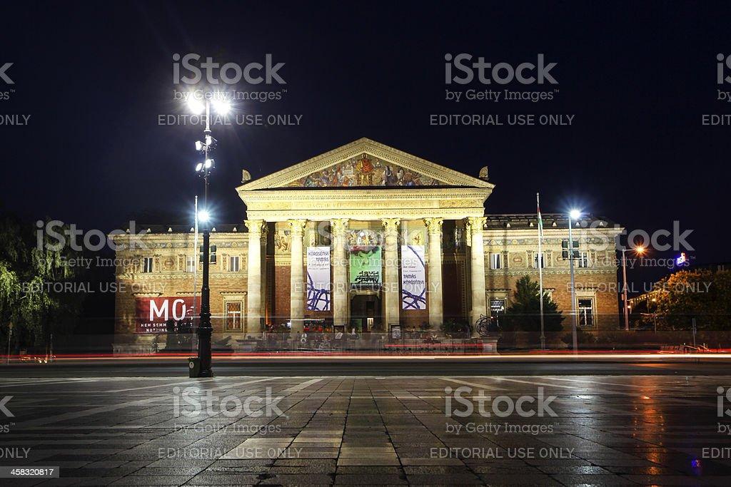 Kunsthalle Budapest stock photo