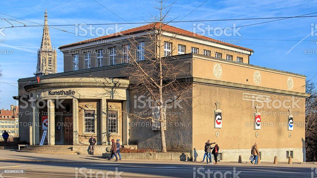 Kunsthalle building in Bern, Switzerland stock photo