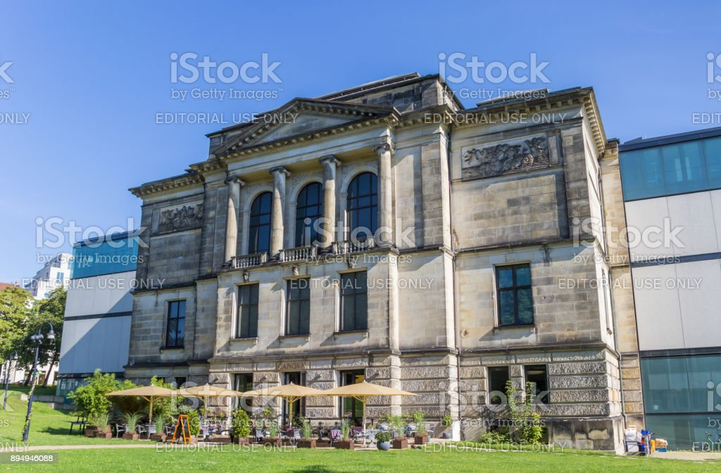 Kunsthalle Museum in the historical center of Bremen, Germany stock photo