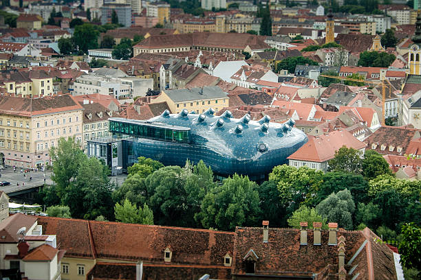 Kunsthaus Graz stock photo