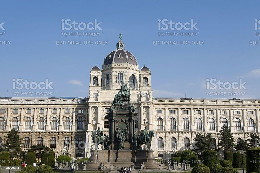 Kunsthistorisches Museum in Vienna stock photo