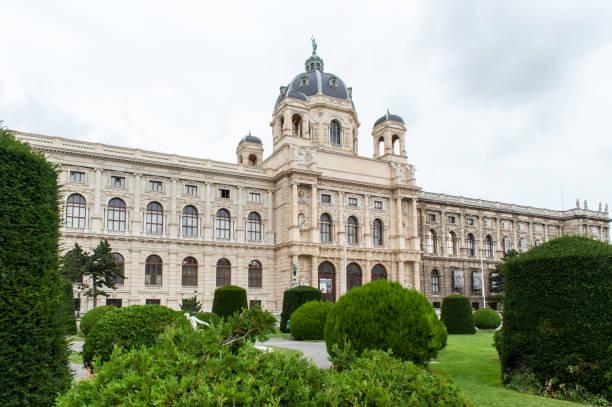 kunsthistorisches museum oder kunst geschichte museum in wien - kunsthistorisches museum wien stock-fotos und bilder