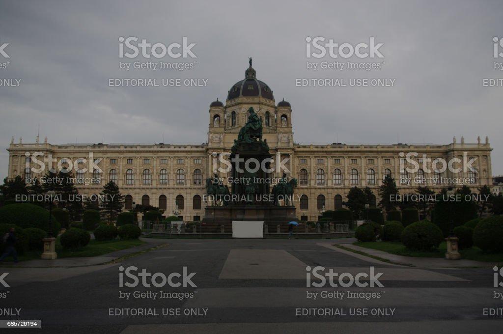 Kunsthistorisches Museum (Museum of Art History) stock photo