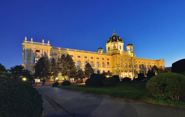kunsthistorisches museum, wien, österreich - kunsthistorisches museum wien stock-fotos und bilder