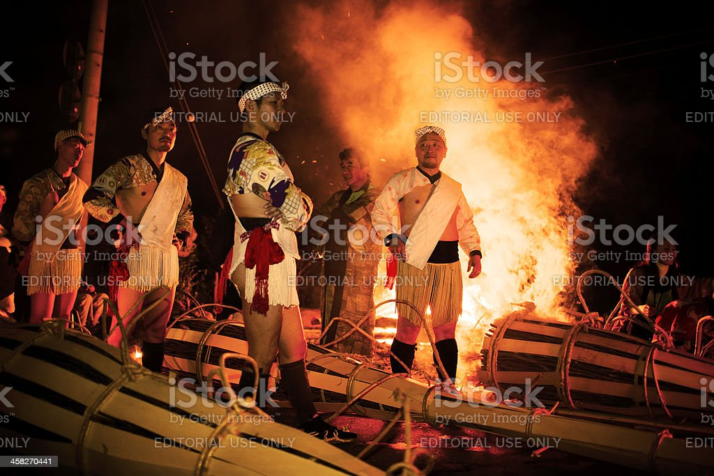 Kurama Fire Festival Kyoto Japan Stock Photo & More Pictures