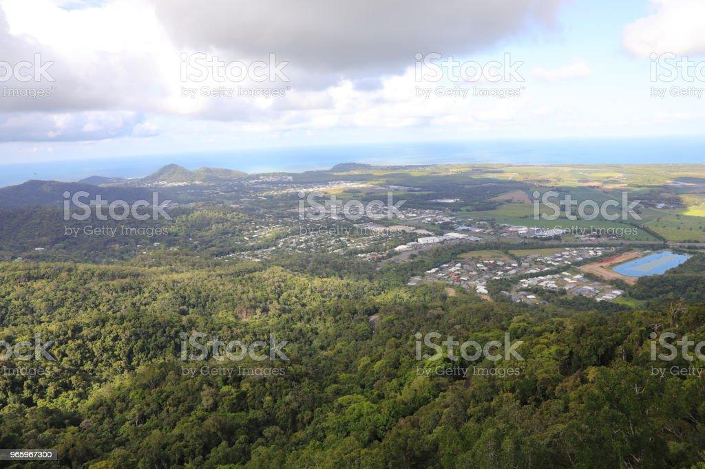 Kuranda tropisch regenwoud - Royalty-free Australië Stockfoto