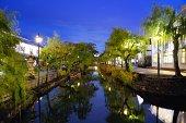 Kurashiki 、日本の運河