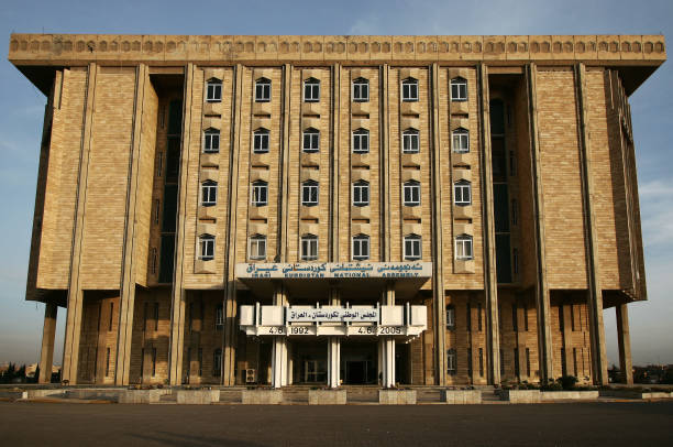 Parlement du Kurdistan le 5 décembre 2005 à Arbil, Iraq. - Photo