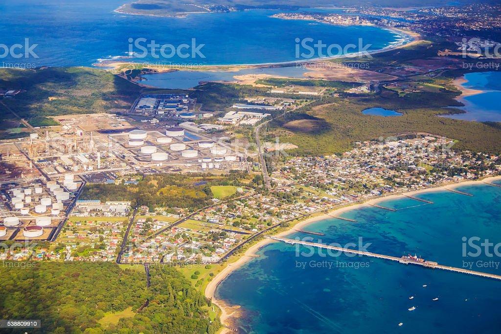 Kurnell, Sydney stock photo