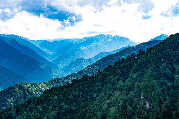 kurobe dam, japanese mountain landscape - 日本 ストックフォトと画像