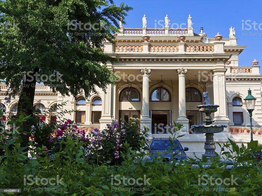 Kursalon Vienna Stadtpark. stock photo